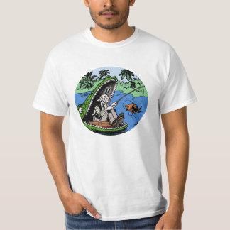 Camiseta Pesca en cocodrilo