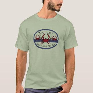 Camiseta Pesca holandesa del cangrejo del mar de Bering del