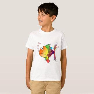 Camiseta Pescados de atún del Océano Pacífico del