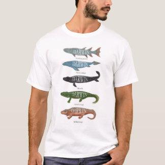Camiseta Pescados de Darwin