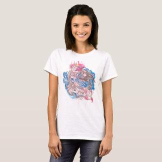 Camiseta Pescados de Yin Yang Koi