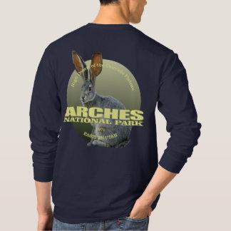 Camiseta PESO de NP de los arcos (Jackrabbit)