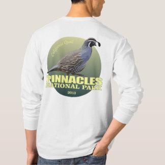Camiseta PESO de NP de los pináculos (codorniz de
