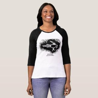 Camiseta Petroglifo del Macaw, barranco de Boca Negra, New