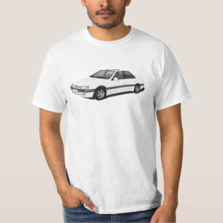 Camiseta Peugeot 405 - blanco