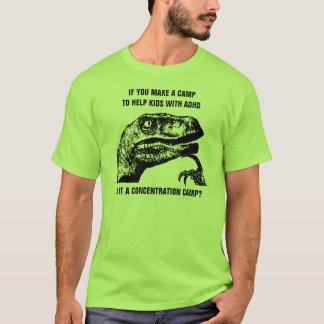 Camiseta Philosoraptor ADHD