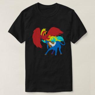 Camiseta Phoenix contra Qilin