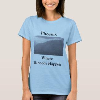 Camiseta Phoenix en donde sucede Haboobs