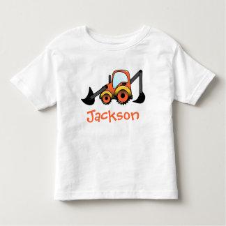 Camiseta picadora del niño de la construcción