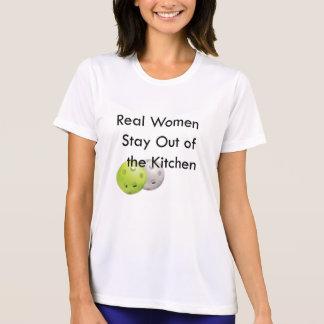 Camiseta Pickleball, estancia fuera de la cocina