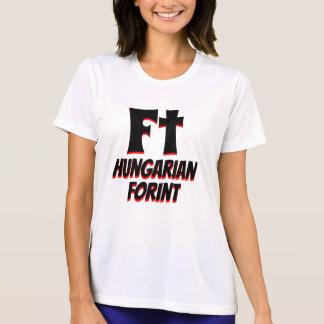 Camiseta Pie de blanco húngaro del forint