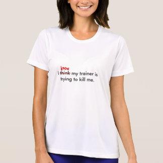 Camiseta Pienso que mi instructor está intentando al ki… -