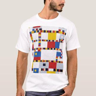Camiseta piet mondrian , victory.boogie-woogie