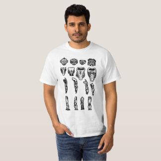 Camiseta Piezas sin piedad