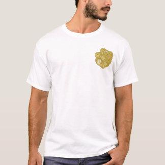 Camiseta Pilas de Dogecoins
