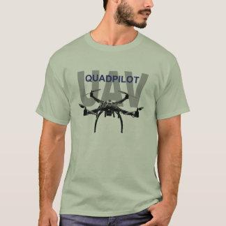 Camiseta Piloto del UAV Quadpilot Quadcopter