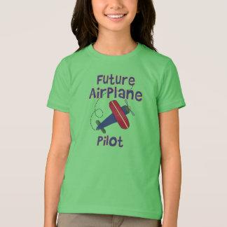 Camiseta Piloto futuro del aeroplano