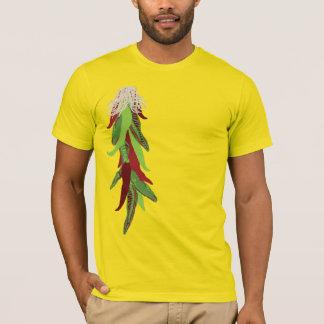 Camiseta pimientas de chile verdes