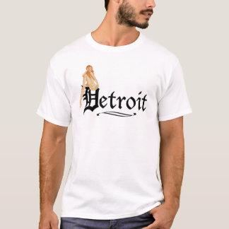 Camiseta Pin encima del estilo de Detroit