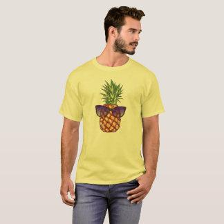 Camiseta Piña retra en sombras/gafas de sol