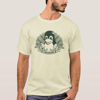 Camiseta Pingüino de Tux - (Linux, Open Source, Copyleft,