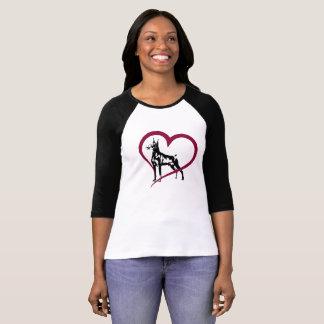 Camiseta Pinscher del Doberman