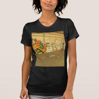 Camiseta Pintada abandonada