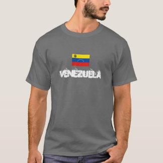 camiseta pintada aerosol de Venezuela del estilo
