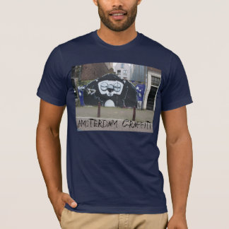Camiseta Pintada de Amsterdam