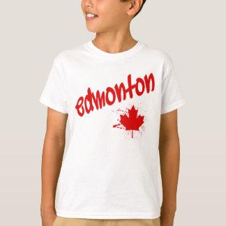 Camiseta Pintada de Edmonton