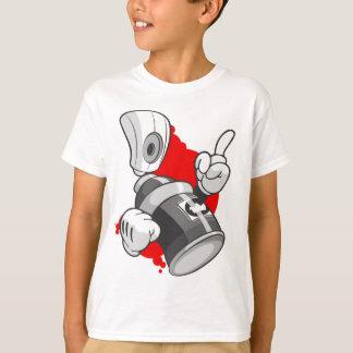 Camiseta Pintada de los niños: Carácter Streetwear de la