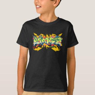 Camiseta Pintada de los niños: James Streetwear