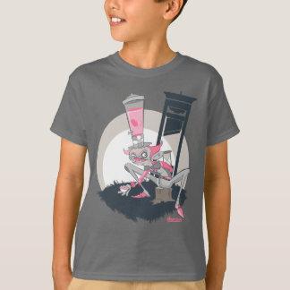 Camiseta Pintada de los niños: Sombrerero enojado