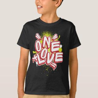 Camiseta Pintada de los niños: Un amor Streetwear
