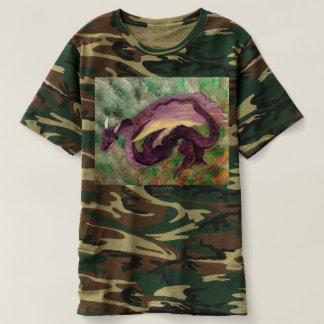 Camiseta pintada dragón