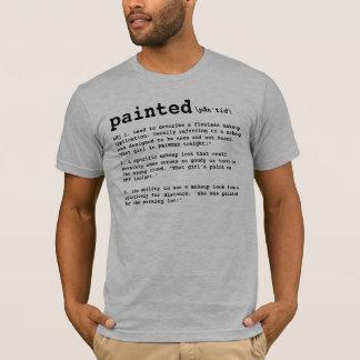 Camiseta PINTADO, definición del artista de maquillaje