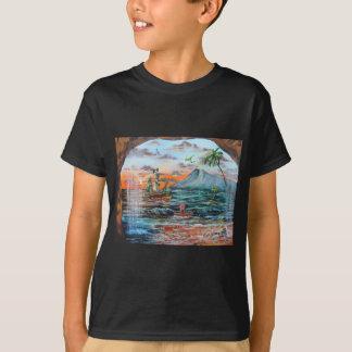 Camiseta Pintura de Bell del chapucero de la ensenada del