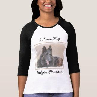 Camiseta Pintura de Tervuren del belga - arte original
