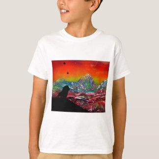 Camiseta Pintura del arte de la pintura de aerosol del