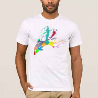 Camiseta Pintura del delfín