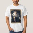 """Camiseta Pintura """"Escapando de la crítica"""" Trampantojo Art"""