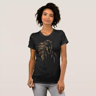 Camiseta Pintura hermosa del caballo