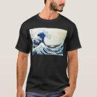 """Camiseta Pintura japonesa """"de la gran onda"""" por Hokusai"""