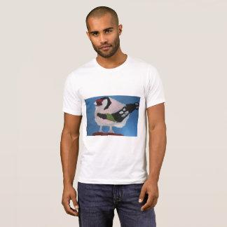 Camiseta Pintura preciosa del extracto del pájaro del