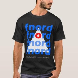 Camiseta Pirámide de Illuminati - Fnord oscuro grande