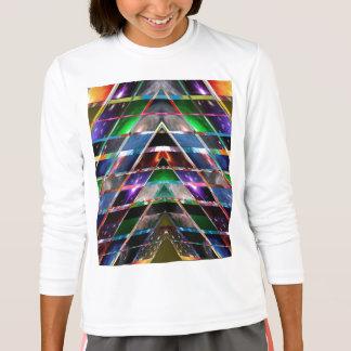 Camiseta PIRÁMIDE - disfrute del espectro de energía