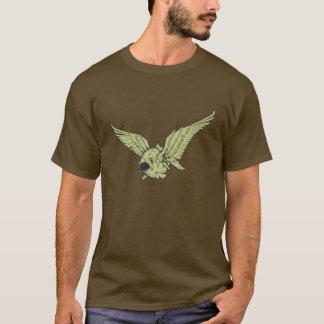Camiseta Piraña coa alas