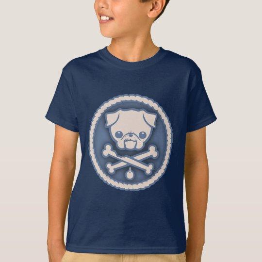 Camiseta Pirata del barro amasado - azul