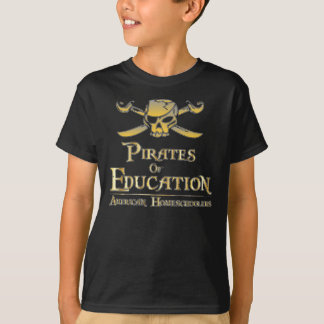 Camiseta Piratas de la educación