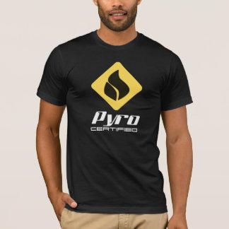Camiseta Piro certificado